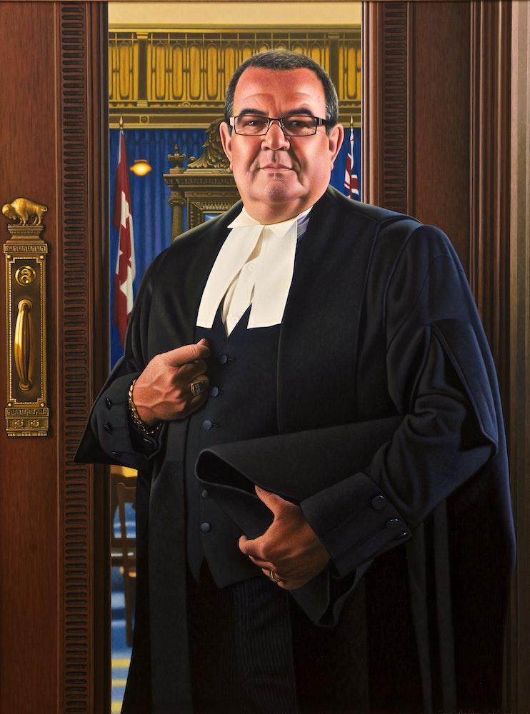 Speaker of the House Deni Rocan