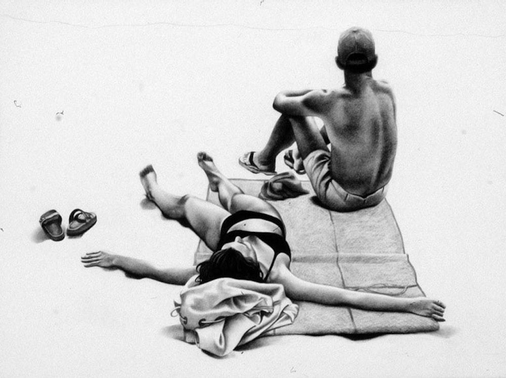 Beach People 2 (Detail A)