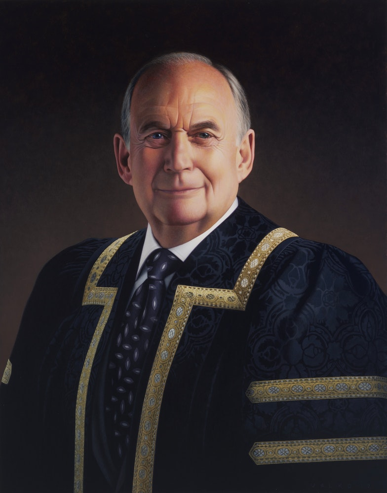Chancellor of University of Manitoba Harvey Secter