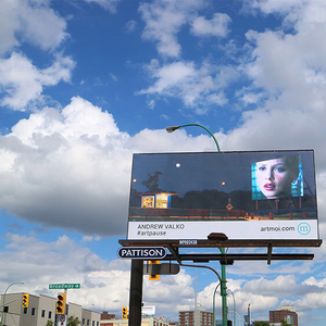 the #artpause project - past billboards