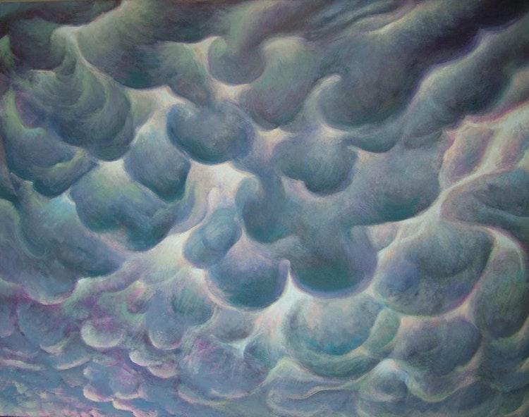 Cloud 4- Maya Mammatus