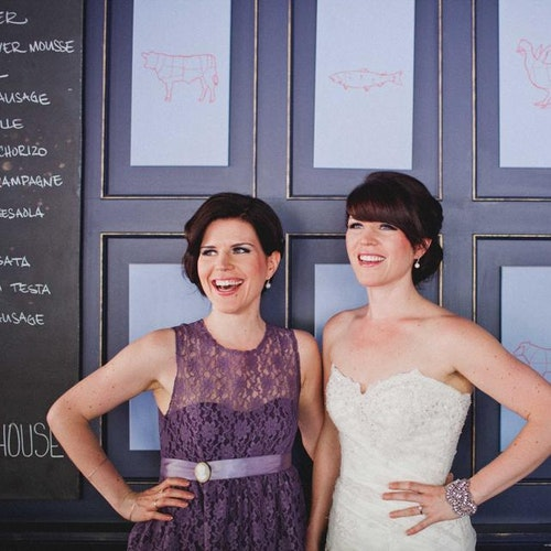 Arielle + Sarah, Photographed by Dustin Leader