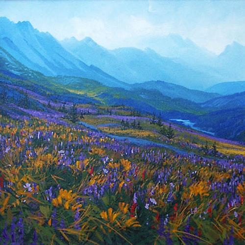 Winds Through the Mountain Pass