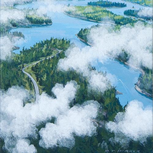 The Winnipeg River, North of Kenora