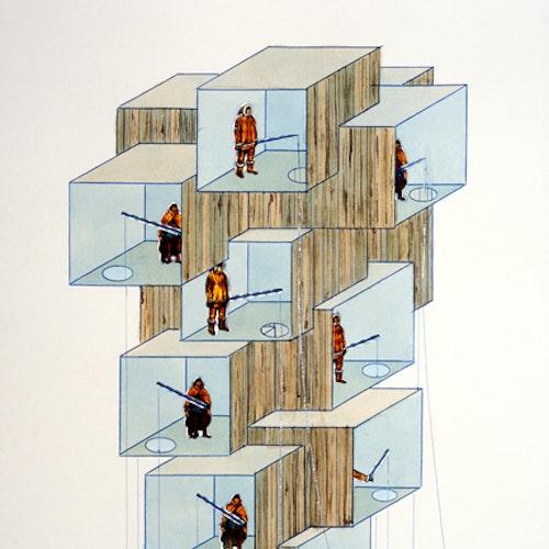 Modular ice-Fishing Tower