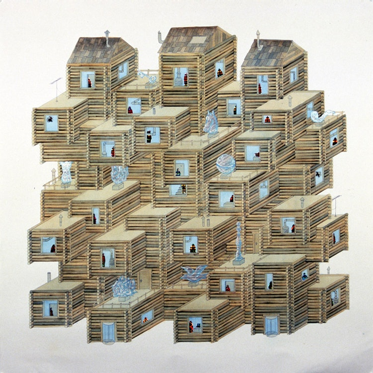 Rustic Condominiums with Optional Ice Sculptures