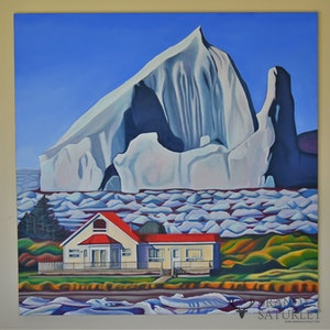 Where Icebergs Roam Free