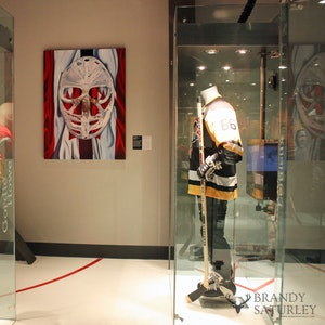 Goalie's Mask Painting - Prints for Canada's Sports Hall of Fame 2013