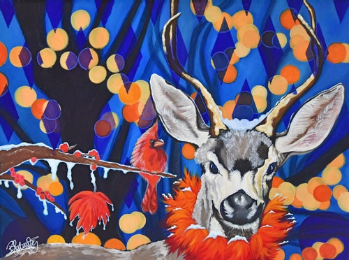 Harlequin Deer