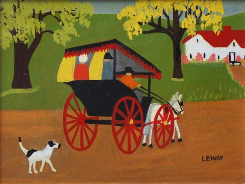 Carriage and Dog