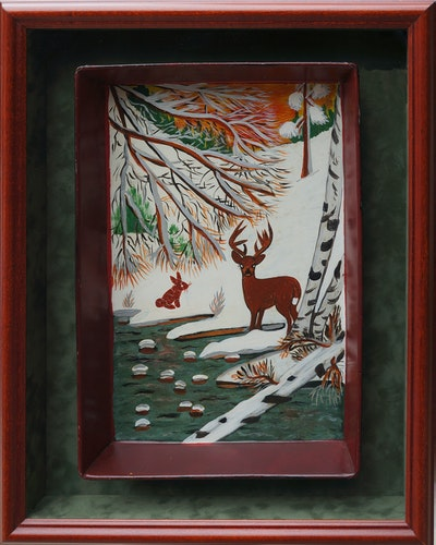 Deer on Tray