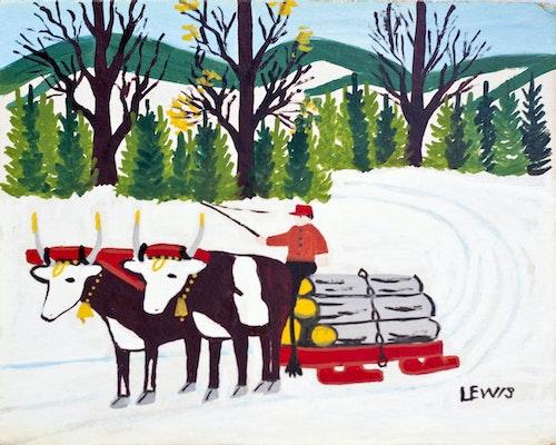 Hauling Logs, 1962-63
