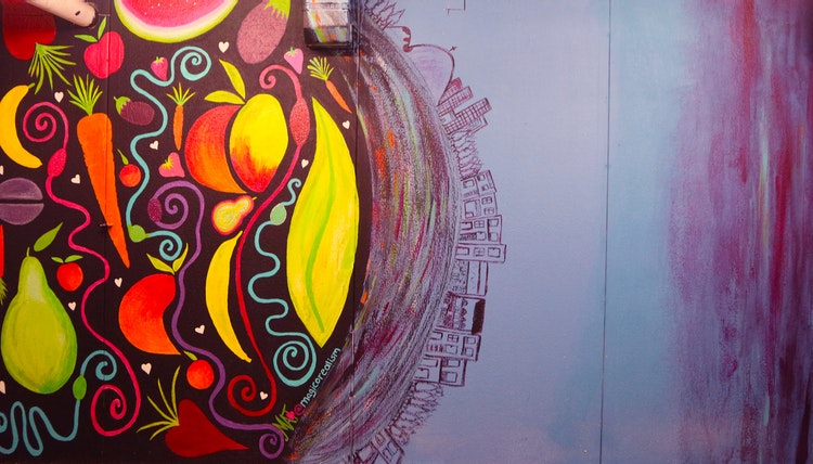 A Mural About Composting