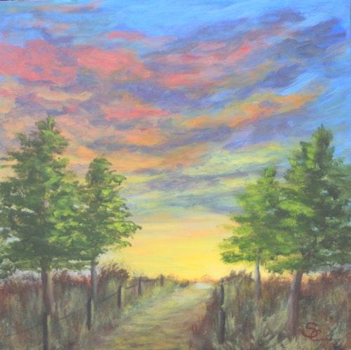 Sunrise on the Cottonwood Trail