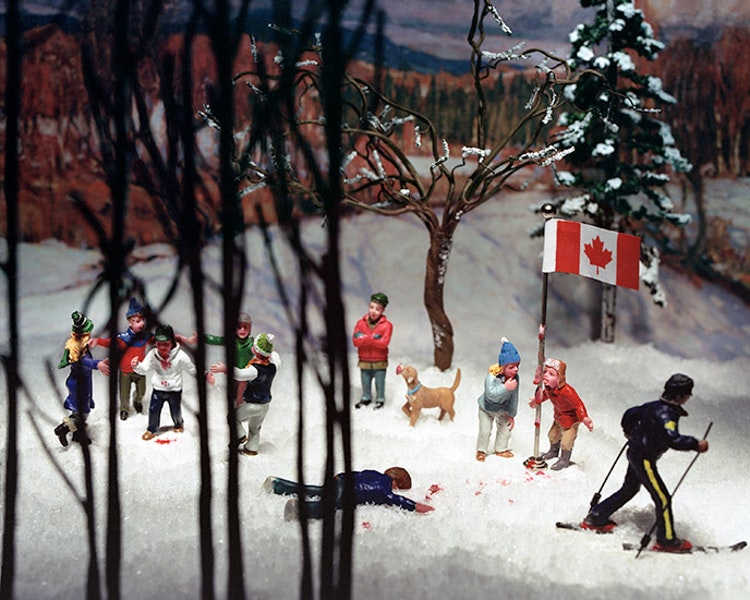 Group of Seven Awkward Moments (In Algonquin Park)