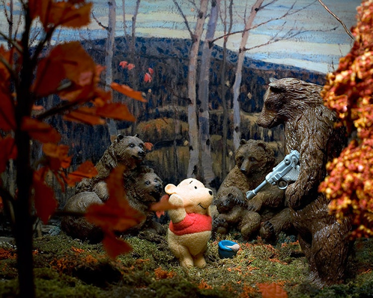 Group of Seven Awkward Moments (Maples and Birches with Winnie and the Pooh)
