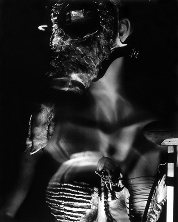 Untitled (Cloven Hoof Mask)