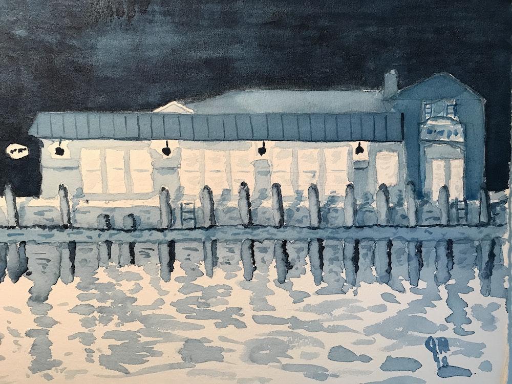 Annapolis dock bar