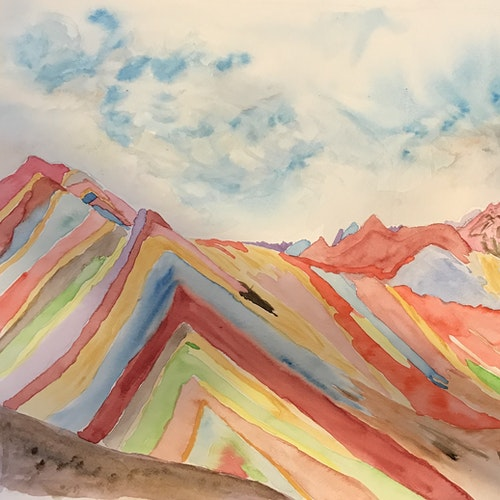 peruvian rainbow mountains #1
