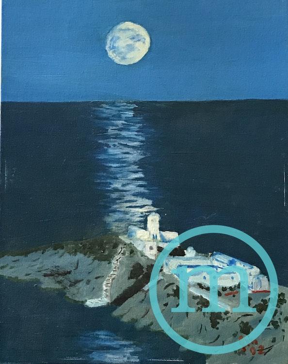 grecian full moon