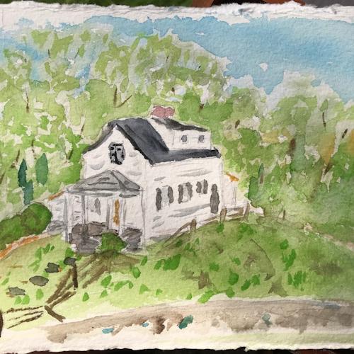 Old artist home in fredericksburg