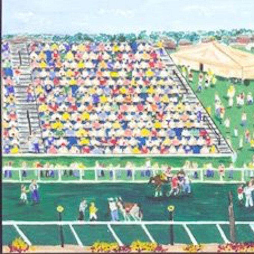 2002 Preakness Art