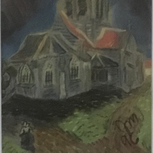 Church at Auvers after VanGogh