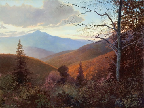 Cold Mountain, October